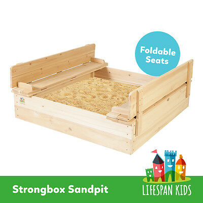 Lifespan Kids Sandpit/Sand Pit Outdoor Toy #Strongbox