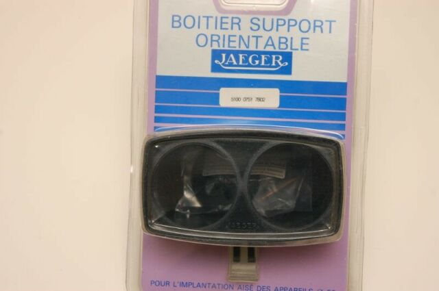 Nos Jaeger universal gauge holder pod Citroen Peugeot. for 2x 52mm gauges