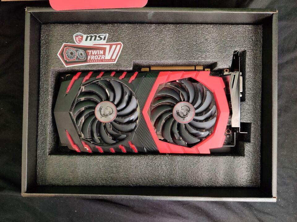 GTX 1060 MSI, 3 GB RAM, Perfekt