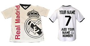 Real-Madrid-Soccer-Jersey-Youth-Kids-Training-Add-Your-Name-amp-Number-Ronaldo-7
