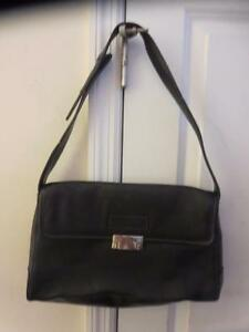 3e9f2a23ad Image is loading WOMENS-TIFFANY-amp-FRED-PARIS-BLACK-LEATHER-HAND-