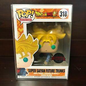 Figurine Funko POP 318 - Dragon Ball Super Super Saiyan Future Trunks