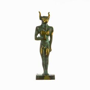Minoan-Minotaur-Crete-Museum-Replica-Medium-Size-Statue-Solid-Bronze-5-9-034