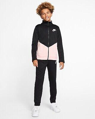 Nike Sportswear Tracksuit Set Black BNWT Size L 12-13 Years