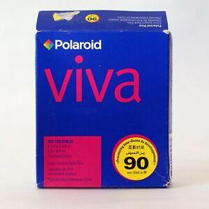 ULTRA-RARE-Polaroid-VIVA-Square-Color-Instant-Film-Packfilm-COLD-STORED-Exp-2008