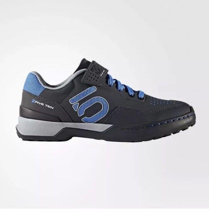 New Five Ten by Adidas Wouomo Kestrel Lace MTB scarpe Dimensione 5 Shock   blu