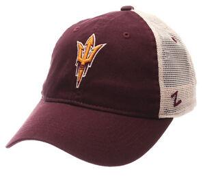 ARIZONA-ST-SUN-DEVILS-NCAA-SLOUCH-TRUCKER-UNSTRUCTURED-SNAPBACK-Z-CAP-HAT-NWT