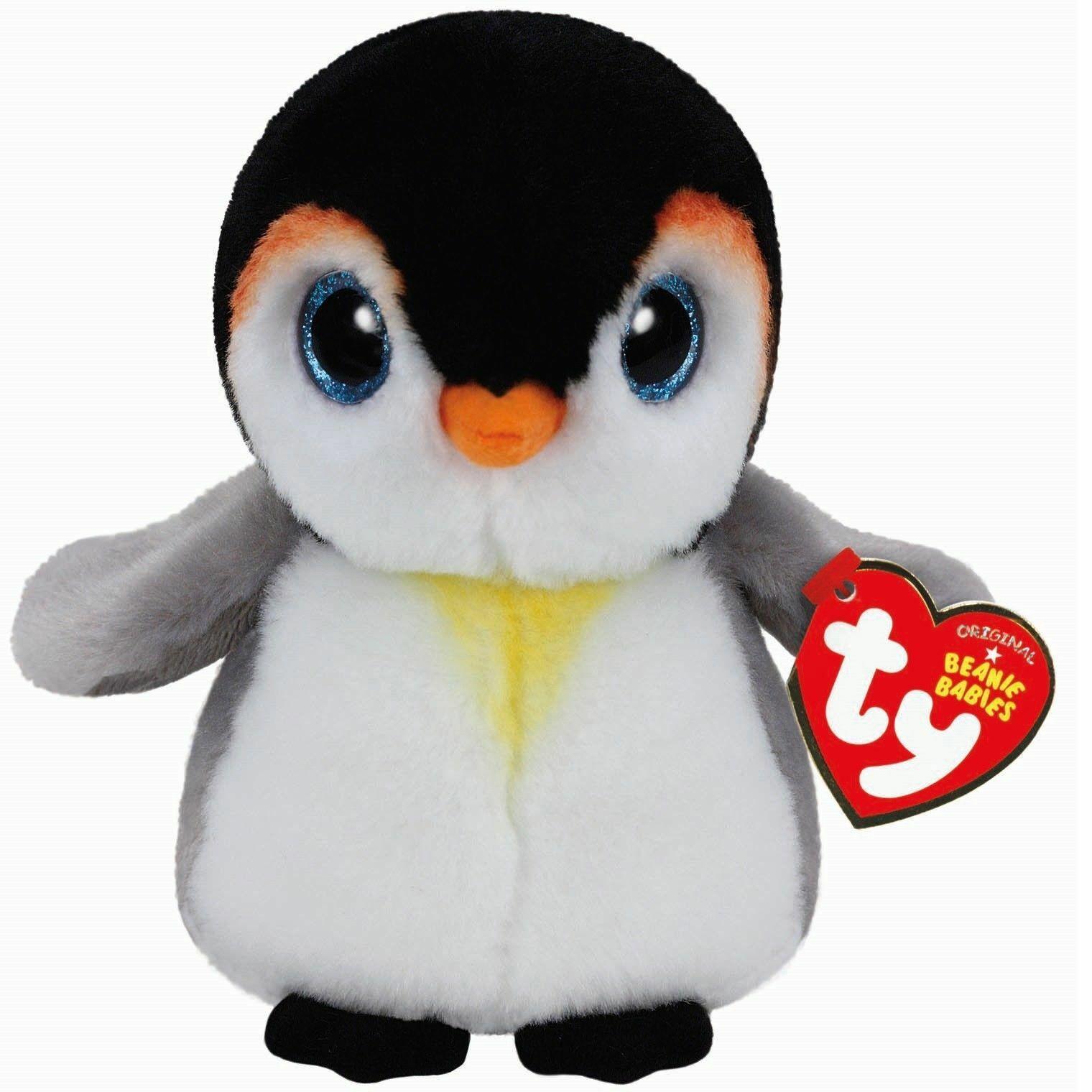 PONGO the Baby Penguin NEW MWMT Ty Beanie Baby 6 Inch