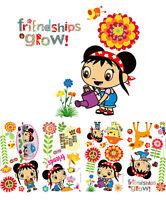 Ni Hao Kai Lan Friendships Grow Girls Decor Decals Wall Stickers Nickelodeon Nip