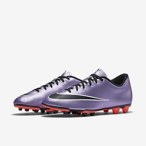 Nike Mercurial Vortex II FG Soccer Cleats Mens 7 Lilac Mango C46 The most popular shoes for men and women