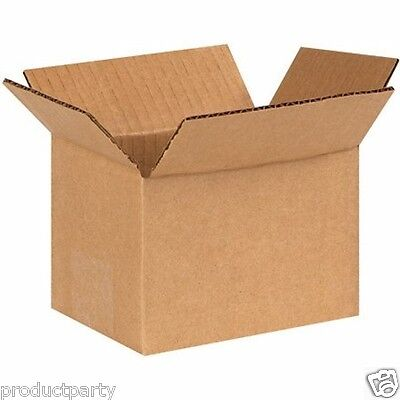 Lot of 175 small cardboard boxes for shipping 4x4x6 New Generic Shipping Boxes