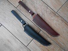 Leather Bushcraft 'Dangler' style sheath