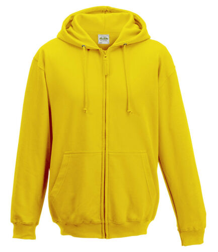 AWDis Mens ZOODIE Soft Cotton-Faced Fabric Full Zip Hooded Jacket Colour Choices