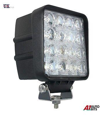 4X 10W 10-30V LED WORK SPOT BEAM LAMPS LIGHTS JOHN DEERE VALTRA FENDT TRACTOR