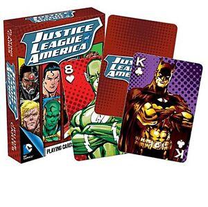 Carte-da-Gioco-Justice-League-Of-America-Set-di-52-Carte-nm