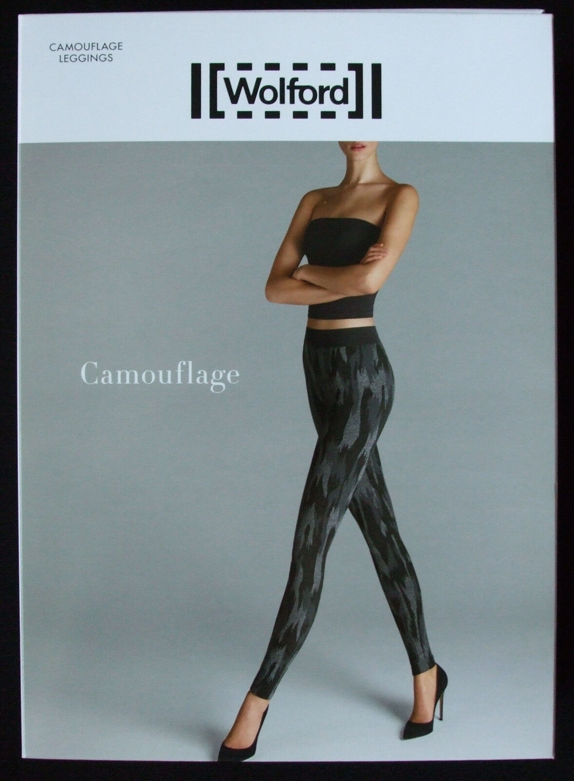 WOLFORD CAMOUFLAGE LEGGINGS SIZE SMALL USA 6-8, New in box
