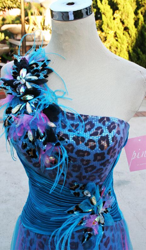Rosa Prom By Alexia 5115 Blau Lila Ballkleid 6