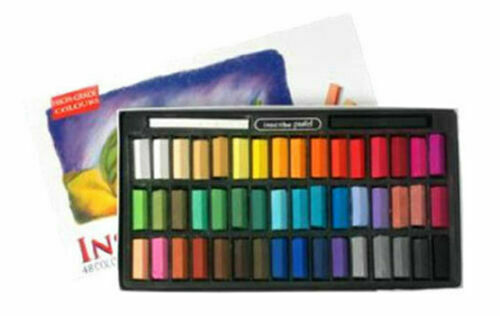 32 Inscribe Mungyo Artist/'s Drawing Soft Pastels Colours Box Set  24 48 or 64