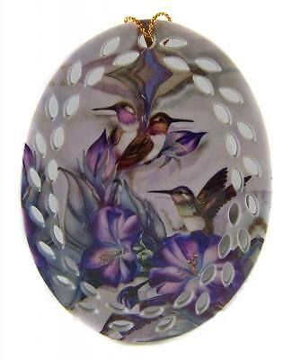 Collectable Porcelain - HUMMINGBIRD - SUNCATCHER HANGING ORNAMENT MOBILE - New