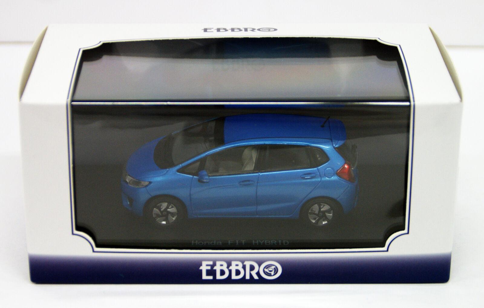 Ebbro 45137 Honda Fit 3 híbrido Vivos Azul Cielo Perl 1 43 Escala