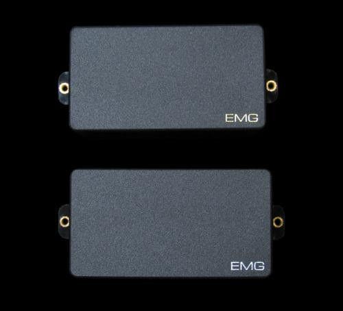 EMG TUNER EMG Zakk Wylde 81 /& 85 Black Humbucker ZW Set Short Shaft Pots