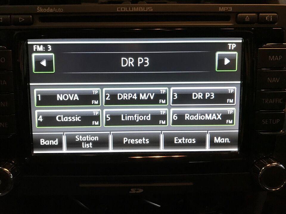 Navigation/GPS, VW Columbus RNS510