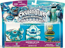 Skylanders Spyro's Adventure Pack EMPIRE OF ICE Slam Bam Anvil Rain - BNIP