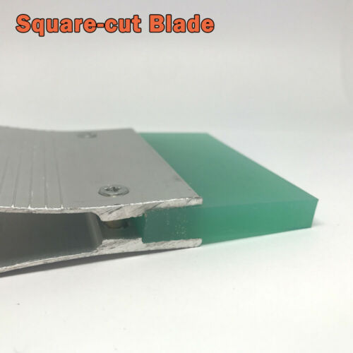 """1 /""""Siebdruck Rakel-Aluminium Silber Klinge Aluminium Gummi Aluminium silber"""