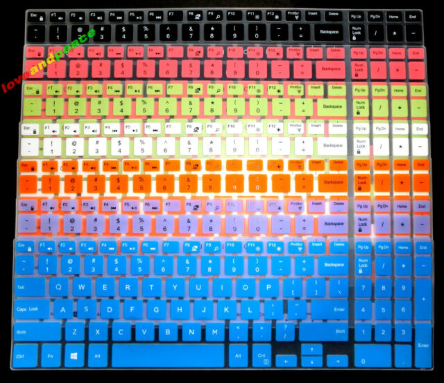 Keyboard Skin Cover for Dell 15-5575 15-3573 17-5775 17-7773, G3 15-3579 17-3779