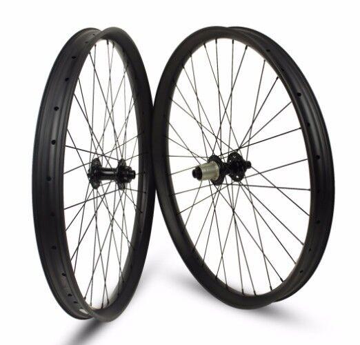 29 in carbon  mountain bike wheels for AM EN fat bike 50mm thru axle novatec 791  just buy it