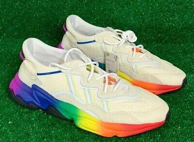 ADIDAS Ozweego PRIDE Off White Rainbow Shoes EG1076 Men' size 11 BRAND NEW   eBay