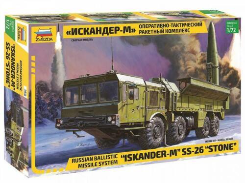 Russian Missile System Iskander-M SS-26 Stone 5028 ZVEZDA 1:72 New!