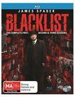 The Blacklist : Season 1-3 (Blu-ray, 2016, 18-Disc Set)