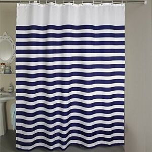 Stall Shower Curtain Welwo Fabric Shower Curtainsliners Set With