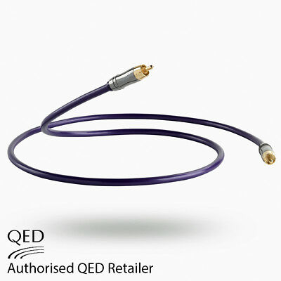 Lifetime Warranty 1M 3.3 Feet QED Reference Optical Cable