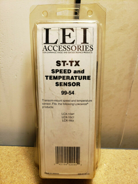 LEI Accessories Lowrance Speed and Temperature Sensor ST-TX 99-54