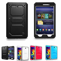 For Samsung Galaxy Tab 4 Nook 7-inch Rugged Hybrid Full Protective Case Cover