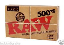 RAW 3 Librillos de 500 hojitas  cada uno (3 X RAW 500) 1500 Papeles / Sheets