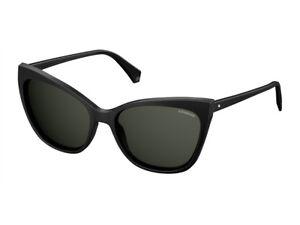Occhiali-da-Sole-POLAROID-polarizzati-PLD-4060-S-grigio-nero-cat-eye-807-M9