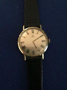 Omega-watch-14kt-gold