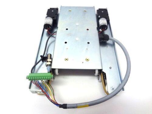 Rollwagen Rollschlitten mit 2 Servomotoren und 2 Sensoren NEU