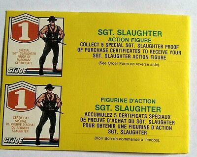 Gi joe canadian get free  sgt.slaughter 1986