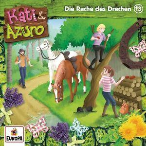 KATI-amp-AZURO-13-DIE-RACHE-DES-DRACHEN-CD-NEU