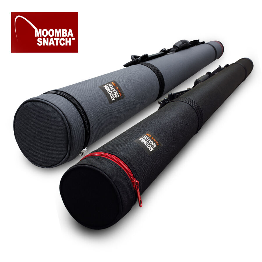 MOOMBA SNATCH FLY FISHING ROD TUBE & CASE CUSTOMIZED SIZE, HAND MADE