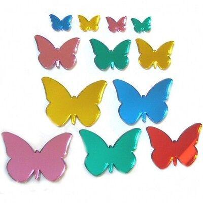 Bello Mini Decorativi Colori Misti Farfalla Specchi- Possedere Sapori Cinesi