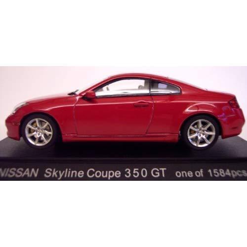 Nissan Skyline Coupé 350gt (Infiniti G35) red 1 43 Scala Modellino da Ebbro