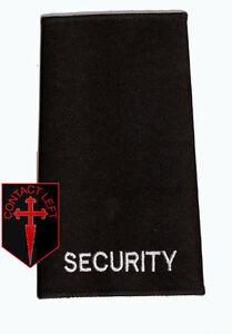 New-BLACK-SECURITY-Badge-EPAULETTE-Rank-slide-1-high-quality-slide