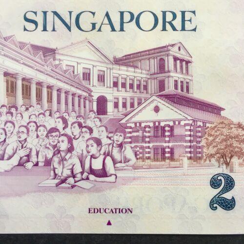 2011 SINGAPORE 2 DOLLARS POLYMER P-46c UNC/> /> /> /> /> /> /> />W//1 TRIANGLE EDUCATION
