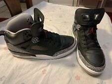 super popular ae58e 22ecc item 1 Nike Air Jordan Spizike BLACK CEMENT GREY RED OG 3 WHITE FIRE 315371-034  sz 9 -Nike Air Jordan Spizike BLACK CEMENT GREY RED OG 3 WHITE FIRE ...