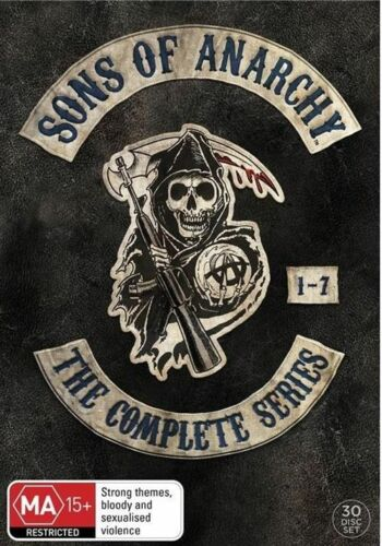 1 of 1 - Sons Of Anarchy : Season 1-7 (DVD, 2015, 30-Disc Set)